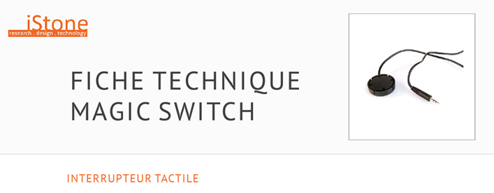 Fiche Technique interrupteur tactile